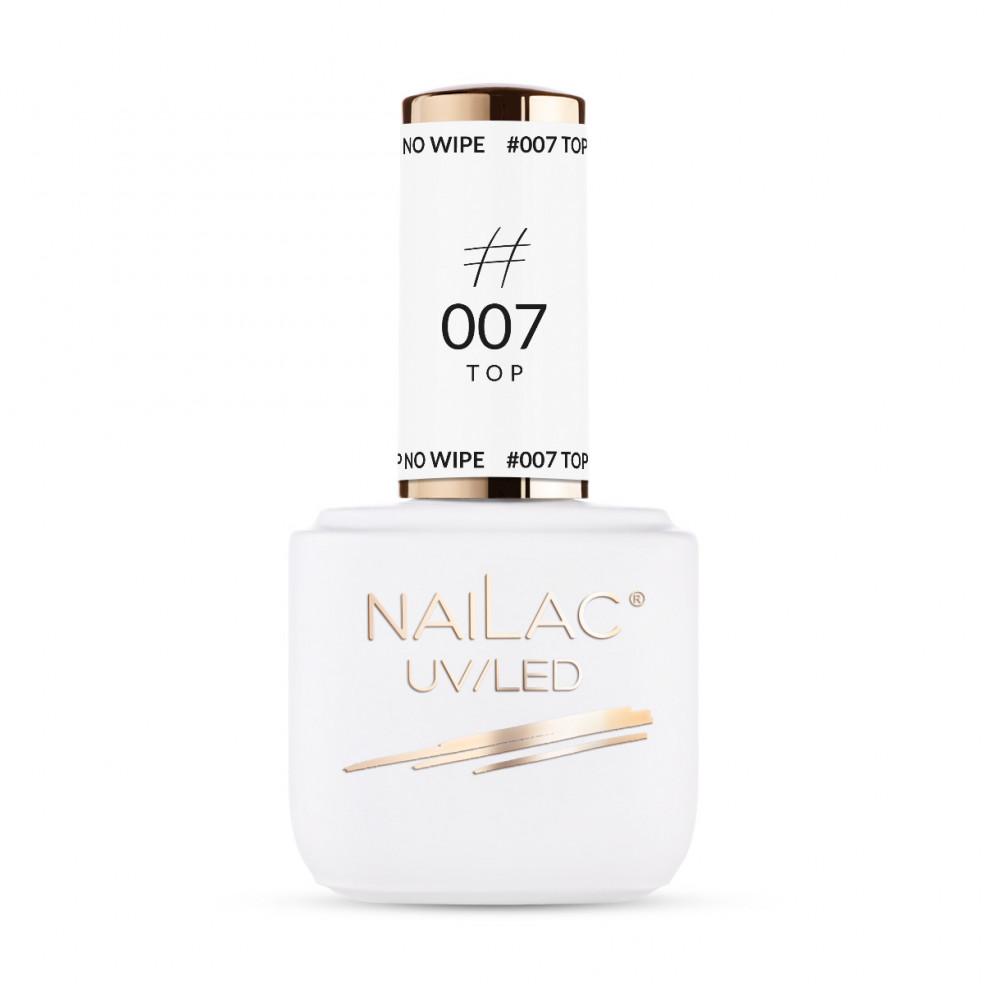 #007 Hybrid top coat - No Wipe NaiLac...