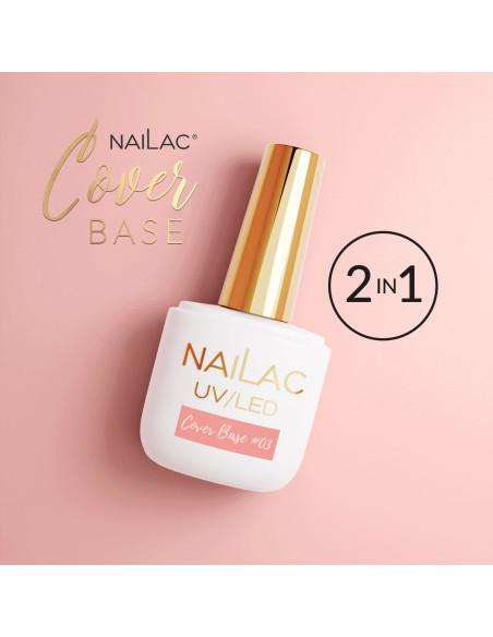 Cover Base #03 NaiLac 7ml