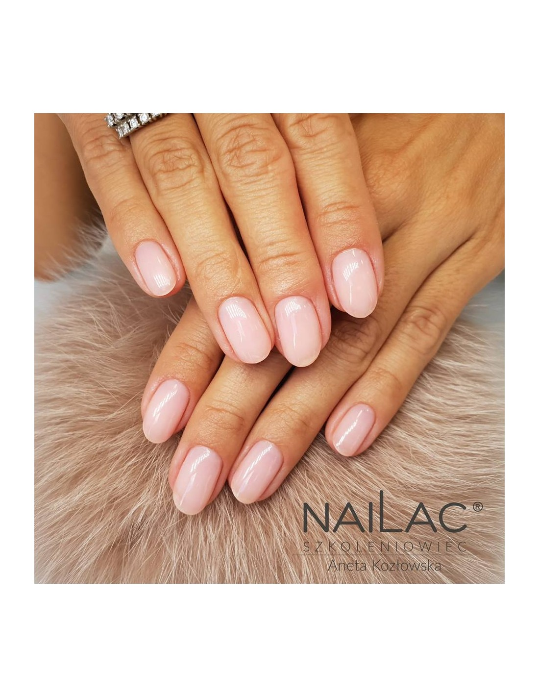 Milky Pudding Pink Hybrid Polish For French Manicure 011f Nailac