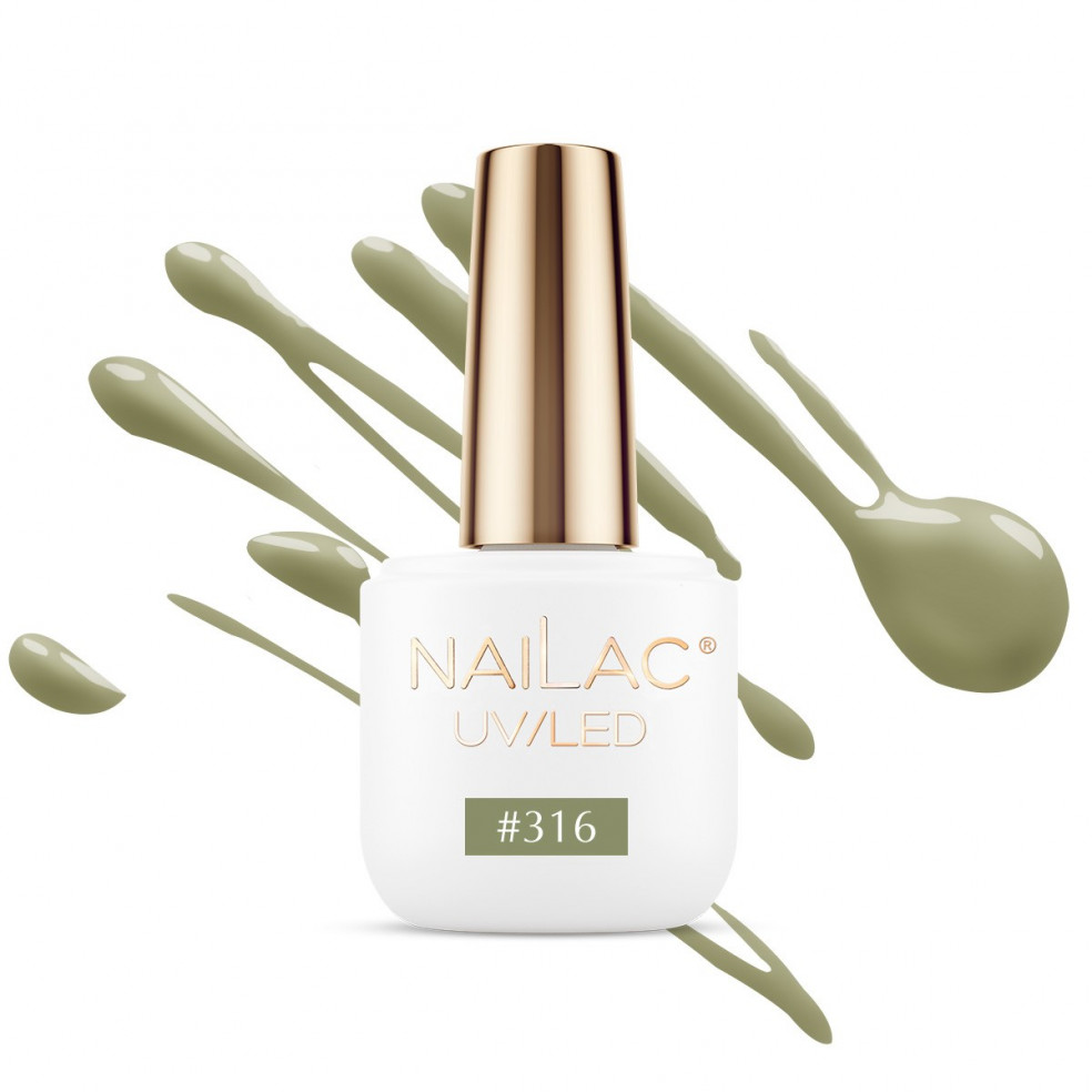 #316 Hybrid polish NaiLac 7ml